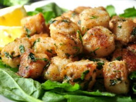Sea Scallops with Lemon Butter Sauce