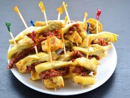 Artichoke Kebabs