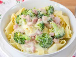 Broccoli & Ham Stroganoff