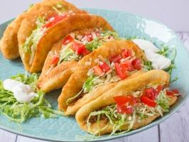 Taco Bell Copycat Chalupas