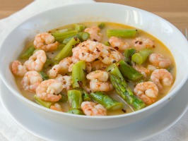 Lemon Shrimp & Asparagus