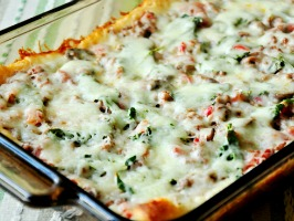 Weight Watcher's Pizza Casserole