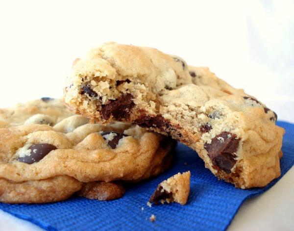 Thick, Soft, and Chewy Chocolate Chip Cookies. Photo by Marg ...