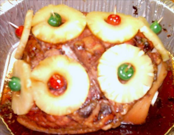 Grandmag's Baked Christmas Ham. Photo by GrandmaG