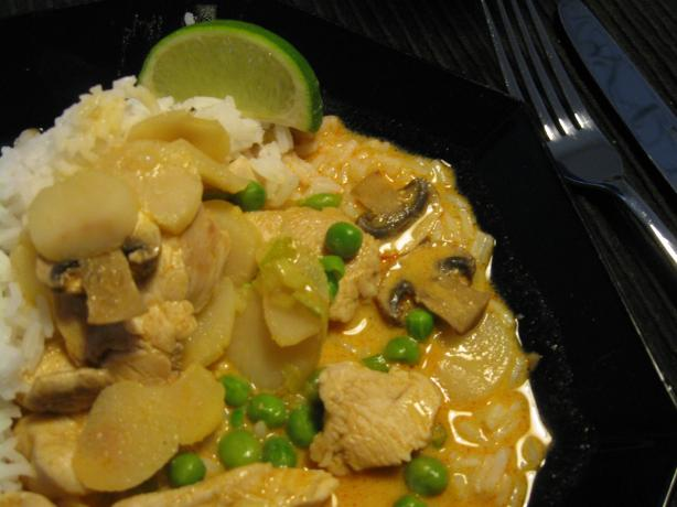 Thai Coconut Chicken and Rice. Photo by stormylee