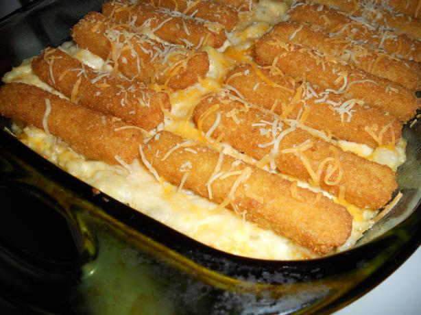 Its a keeper fish stick casserole recipe for Fish stick casserole