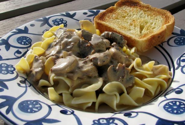 how to make easy beef stroganoff recipe