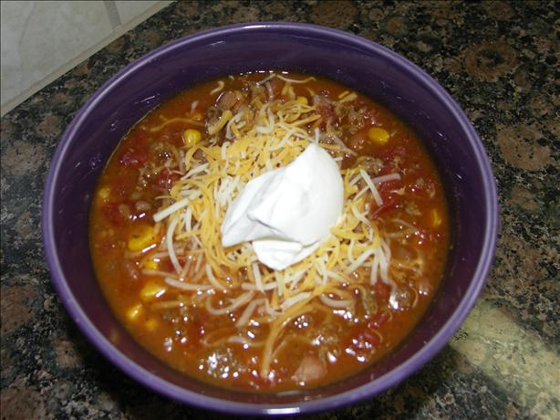 Taco Soup. Photo by Juenessa