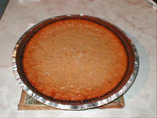 Pumpkin Pie With Graham Cracker Crust. Photo by Sunset_Sam
