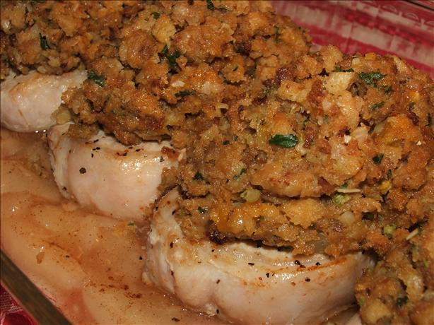 Kellys Apple Pork Chops With Stuffing Recipe - Food.com