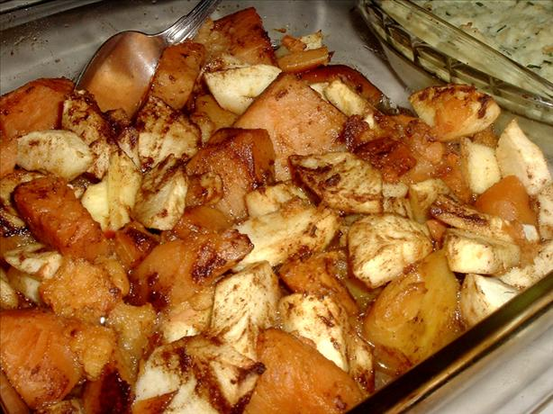 Sweet Potato- Apple Casserole Recipe - Food.com