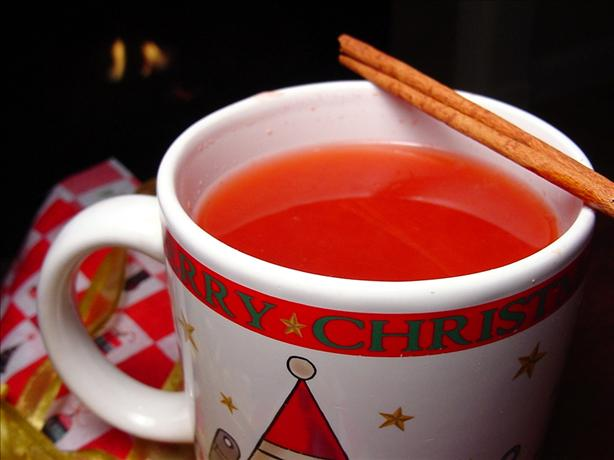Wassail (Non-Alcoholic Mulled Apple Juice). Photo by Sharlene~W