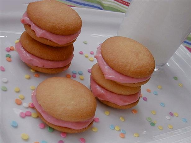 Strawberry And Cream Cheese Sandwich Cookies Recipe - Food.com