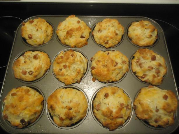 Ham And Cheese Muffins Recipe - Food.com