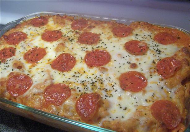 Ziti Pepperoni Casserole. Photo by *Parsley*