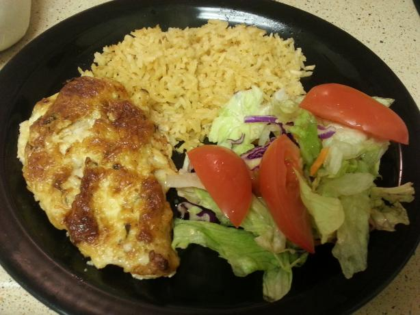 Hellmann's Parmesan Crusted Chicken (Low-fat Version). Photo by Mina ...