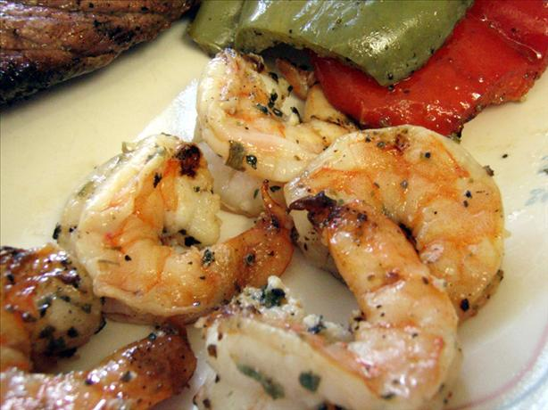 Marinated, Grilled Shrimp. Photo by CandyTX