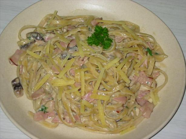 Low - Fat Fettuccine Carbonara For One Recipe - Food.com