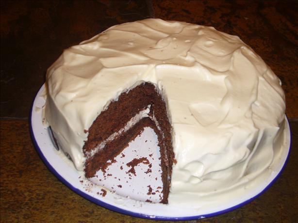 Chocolate Buttermilk Cake With a Sour Cream Frosting. Photo by Perfect ...