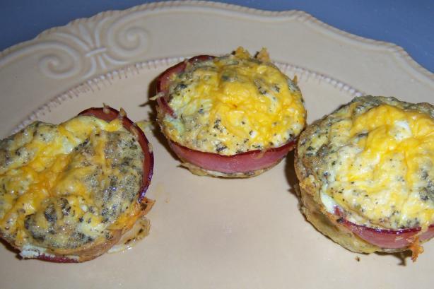 South Beach Diet Bacon Egg Muffins Recipe Food Com