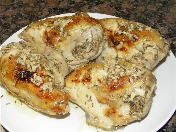 Rosemary chicken low carb photo by juenessa