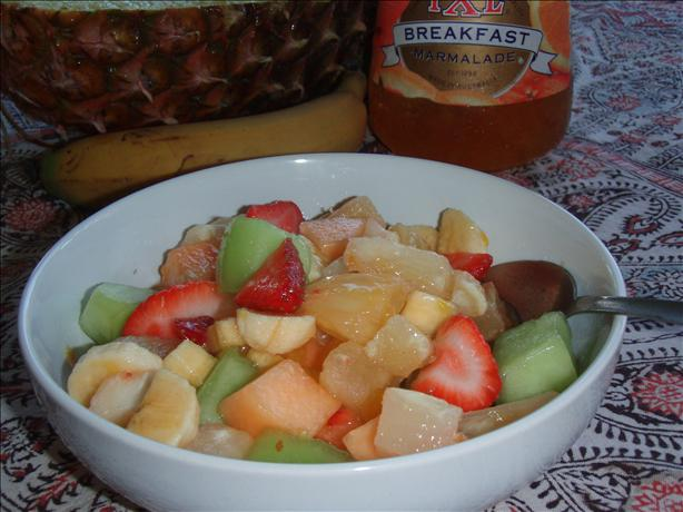 Mozart's Fruit Melody (Salad) easy fast recipe