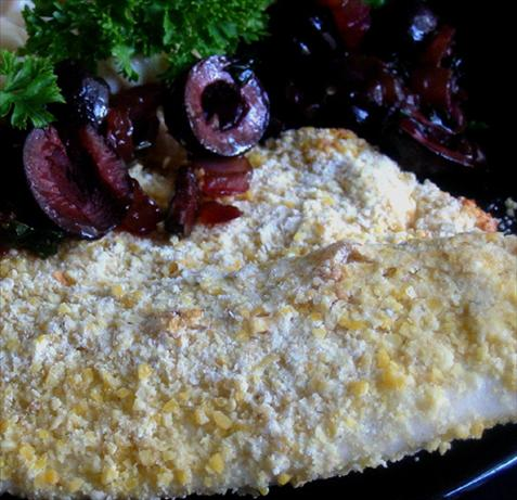Oven Fried Catfish. Photo by Caroline Cooks