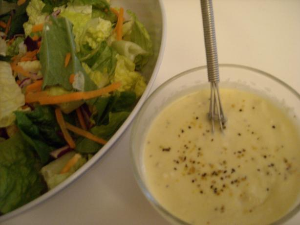 Creamy Lemony Pepper Parmesan Dressing over Romaine. Photo by mums the ...
