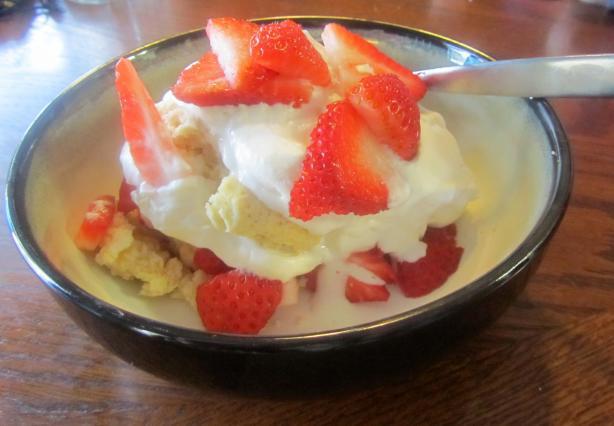 Strawberry Shortcake Old Fashioned Style!. Photo by Dr.JenLeddy