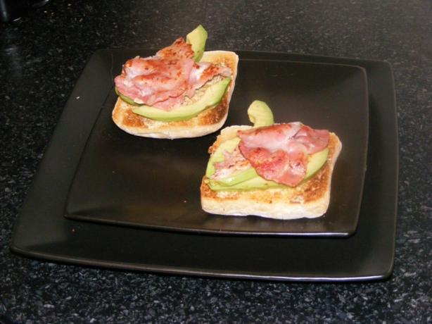 Avocado and Lime With Bacon on Toast. Photo by Mand1642
