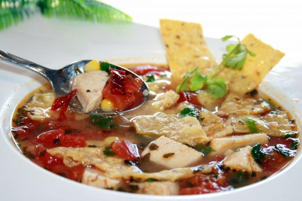 Mexican Chicken Tortilla Soup. Photo by **Tinkerbell**