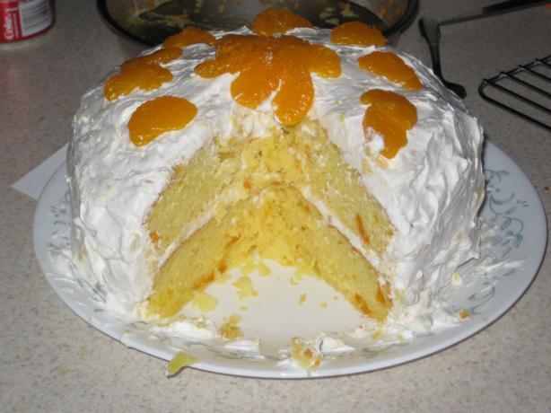 Mandarin Orange Cake. Photo by Kit Katchen
