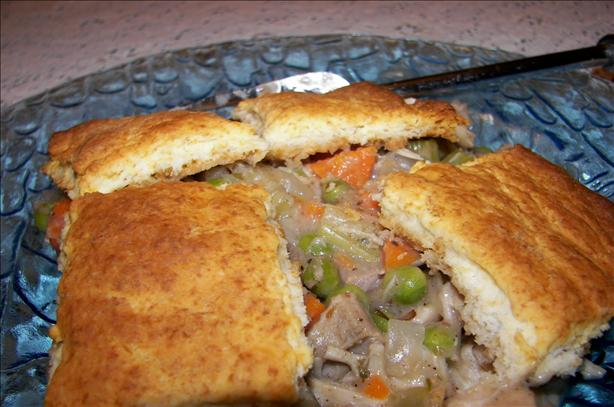 Old Fashioned Chicken Pot Pie. Photo by Baby Kato