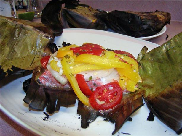 Lemon Grilled Fish In Banana Leaves Recipe - Food.com