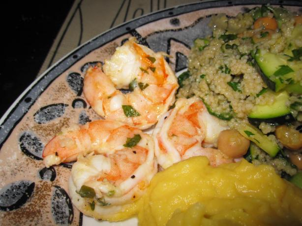 Grilled Shrimp Scampi. Photo by Katanashrp
