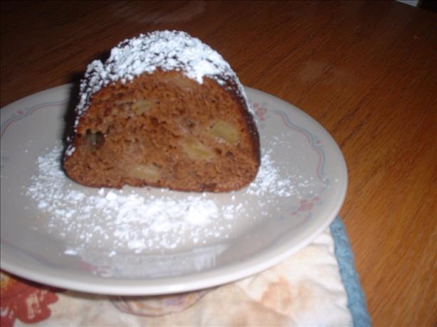 Smoky Mountain Apple Dapple Bundt Cake. Photo by Donna Luckadoo