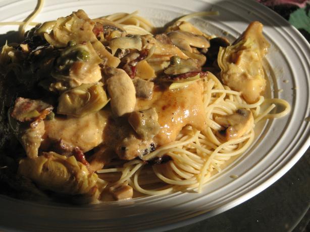 Romano's Macaroni Grill Chicken Scaloppine. Photo by Bonnie G #2