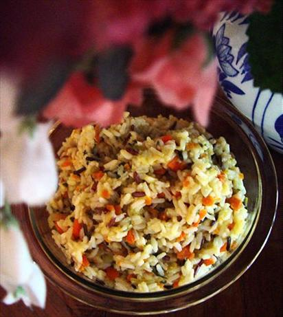 Rice Pilaf With Spiced Caramelized Onions, Orange, Cherry & Pistachio ...