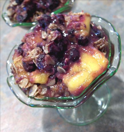 Peach Blueberry Crisp Recipe - Food.com