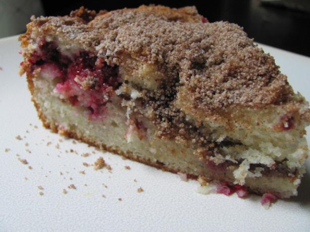 Buttery Raspberry Streusel-Filled Coffee Cake Recipe ...