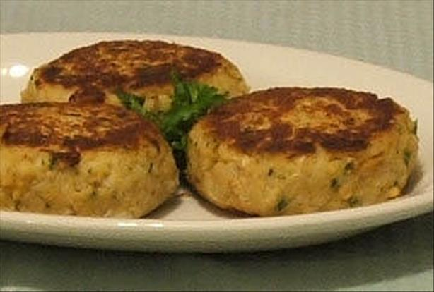 Salmon Potato Patties. Photo by Fairy Nuff