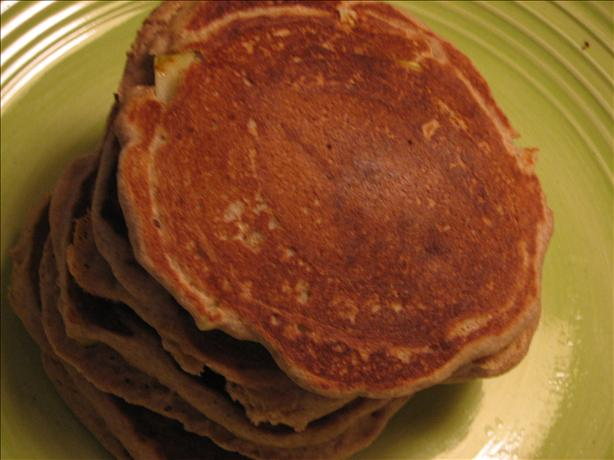 Whole Wheat Cinnamon Apple Pancakes. Photo by Shannon Holmes