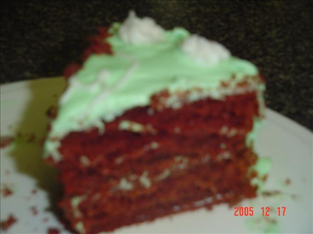 Real Red Devil's Food Cake. Photo by Southern Mama