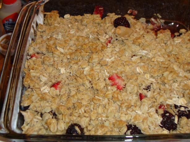 Fruit Crisp Topping Recipe - Dessert.Food.com