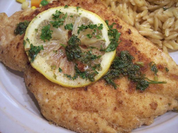 Chicken Scaloppine With Lemon Glaze (Low Fat and Delicious!). Photo by ...