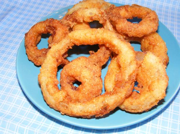 Buttermilk Onion Rings. Photo by Seasoned Cook
