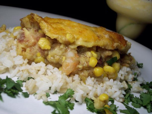 """Shrimp Enchiladas Verde. Photo by """"Ratalouille"""""""