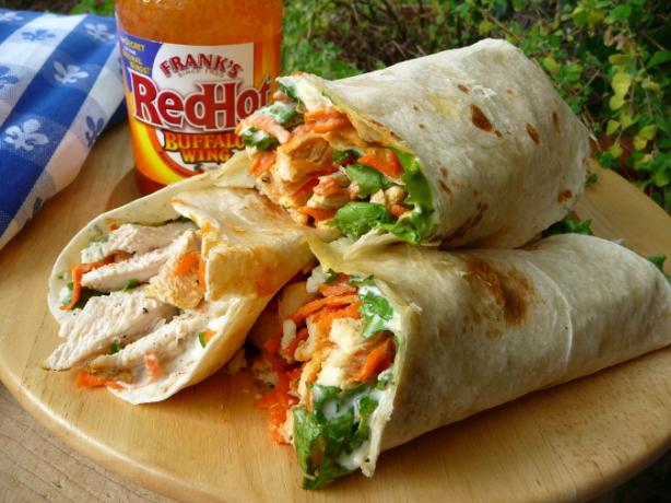 Buffalo Chicken Wraps Recipe - Food.com