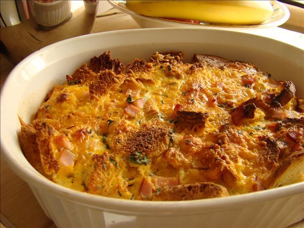 """Ham And Cheese"""" Breakfast Casserole Recipe — Dishmaps"""