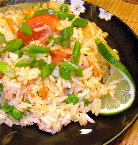 Kao Pad (Thai-Style Fried Rice). Photo by PanNan